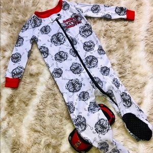 Halloween pajamas Lil Monster 9-12 months